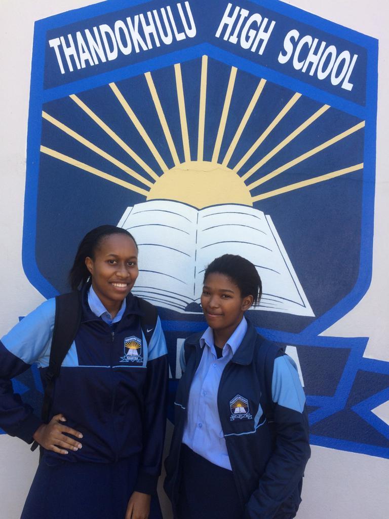 Rosa Sishuba and Asekhona Mbedu